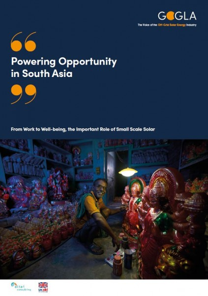 cover Powering Opportunity in South Asia