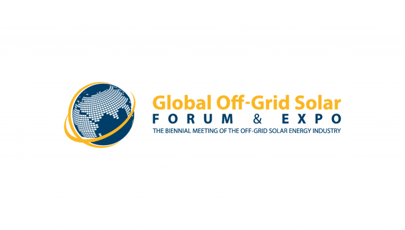 Global Off-Grid Solar Forum and Expo logo
