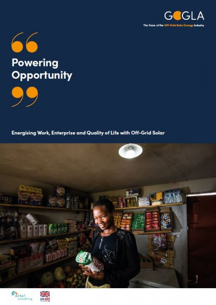 cover Powering Opportunity Global