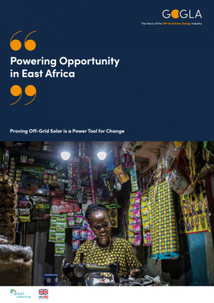 cover Powering Opportunity in East Africa