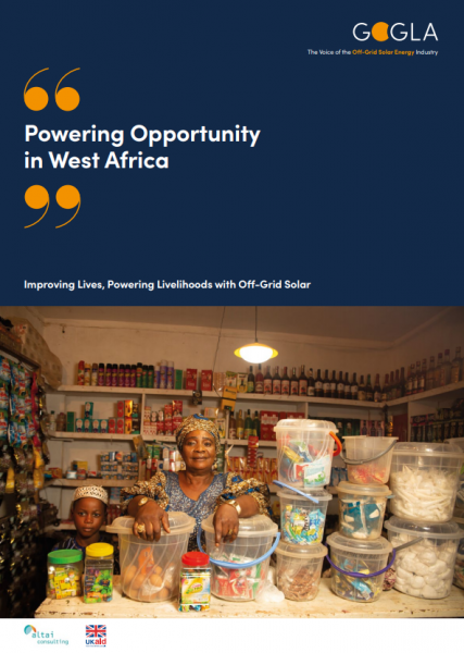 powering opportunity west africa report